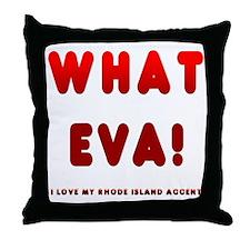 10_whateva_trans Throw Pillow