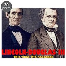 ART LINCOLN DOUGLASS IIIb Puzzle