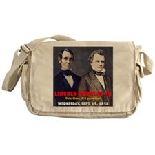 ART LINCOLN DOUGLASS IIIb Messenger Bag
