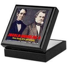 ART LINCOLN DOUGLASS IIIb Keepsake Box