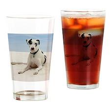 GD beach tile Drinking Glass