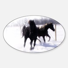 horses8x115 Decal