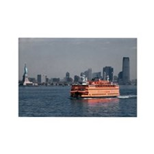 (12) Staten Island Ferry Rectangle Magnet
