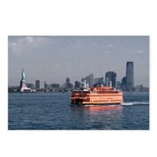 (12) Staten Island Ferry Postcards (Package of 8)