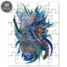 Mythical Warriors Puzzle