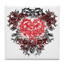heart_fire Tile Coaster