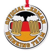 Official German Drinking Team Ornament