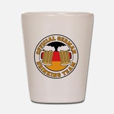 Official German Drinking Team Shot Glass