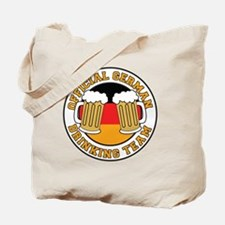 Official German Drinking Team Tote Bag