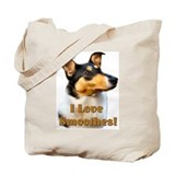 Smooth collie Canvas Totes