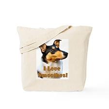 I love Smooth Collies Tote Bag