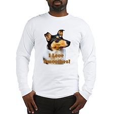 I love Smooth Collies Long Sleeve T-Shirt