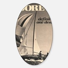 Moore sail Sticker (Oval)