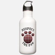Respect The Paw Water Bottle