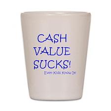 cashvaluekids Shot Glass