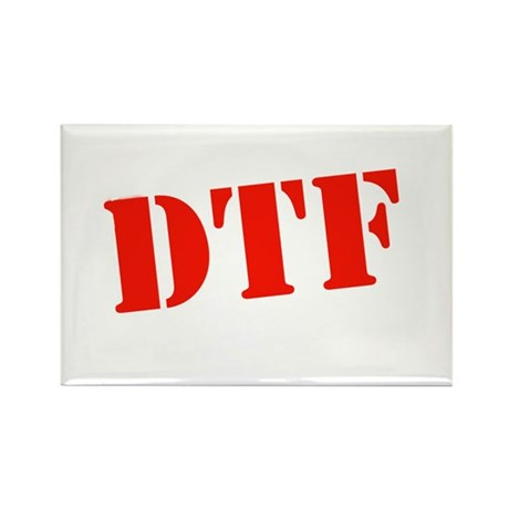 DTF dark Rectangle Magnet