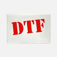 DTF dark Rectangle Magnet
