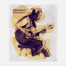 Django Reinhardt Throw Blanket