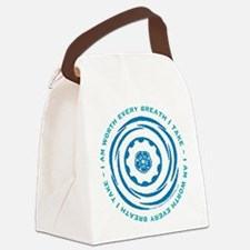 Worth Breath Teal 2 Canvas Lunch Bag