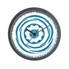 Worth Breath Teal 2 Wall Clock