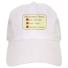 Geocacher's Creed Baseball Cap