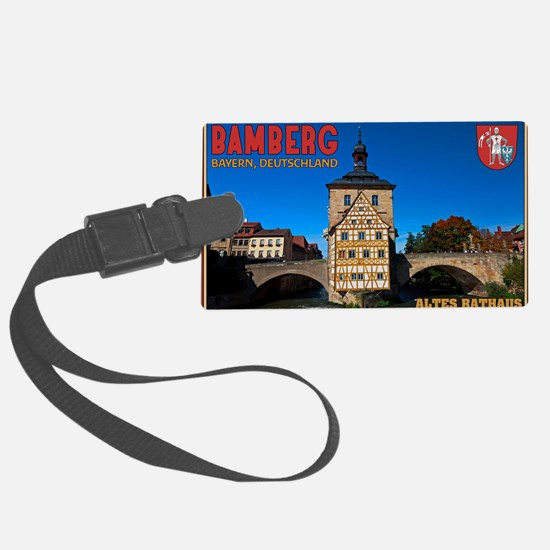 Bamberg Altes Rathaus with CoA Luggage Tag
