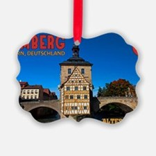Bamberg Altes Rathaus with CoA Ornament