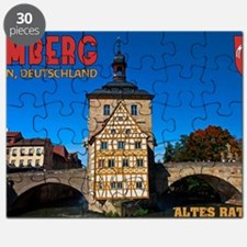 Bamberg Altes Rathaus with CoA Puzzle