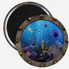 Underwater Love Porthole Magnets