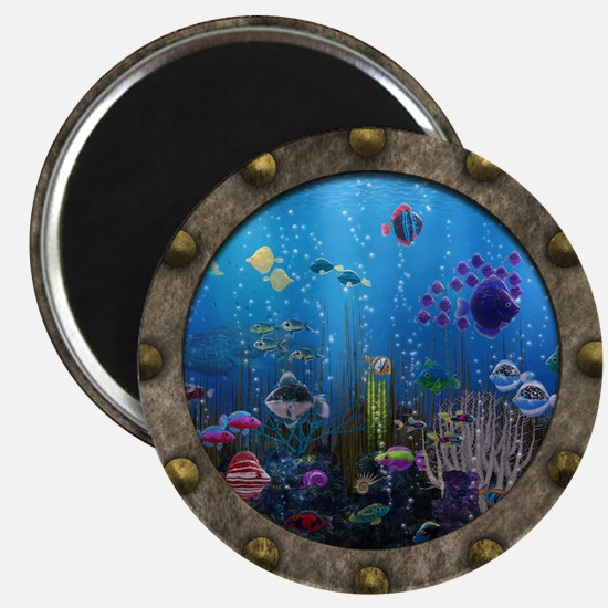 Underwater Love Porthole Magnets