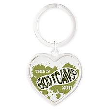 BootCampFront Heart Keychain