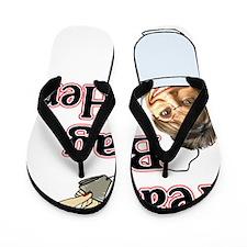tea bag her 1 Flip Flops
