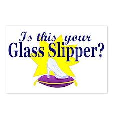 glass slipper (men) Postcards (Package of 8)