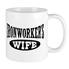 Ironworker's Wife Small Mug