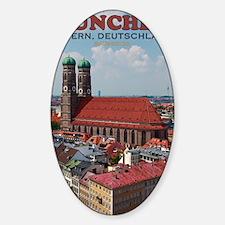 Munich Frauenkirche Portrait Decal