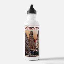 Munich Frauenkirche Water Bottle
