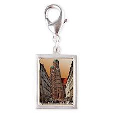 Munich Frauenkirche Silver Portrait Charm