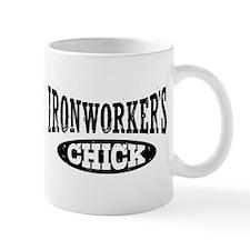 Ironworker's Chick Small Mug