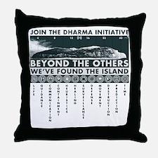 DharmaIsland Throw Pillow