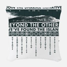 DharmaIsland Woven Throw Pillow