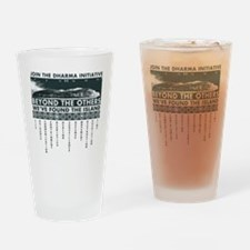 DharmaIsland Drinking Glass