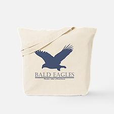 +baldeaglesnavy Tote Bag