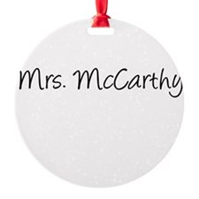 KristinMcCarthyFront Ornament