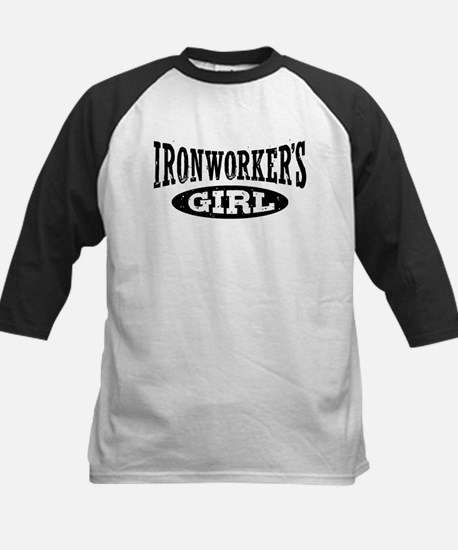 Ironworker's Girl Kids Baseball Jersey
