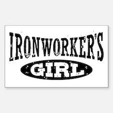 Ironworker's Girl Sticker (Rectangle)