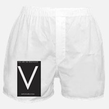 V you are resistance Boxer Shorts