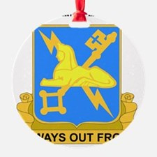 DUI-572ND MILITARY INT COY  WITH TE Ornament