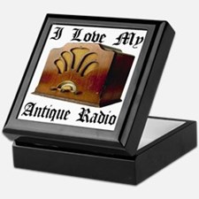 ilovemy_antique_radio Keepsake Box