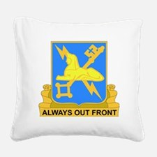 DUI-572ND MILITARY INT COY Square Canvas Pillow