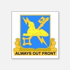 """DUI-572ND MILITARY INT COY Square Sticker 3"""" x 3"""""""